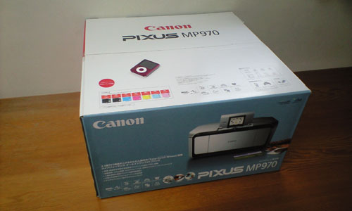 Canon PIXUS MP970 BOX