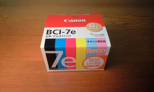 Ink Tank BCI-7e 6colors