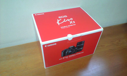 Canon EOS Kiss X3 BOX