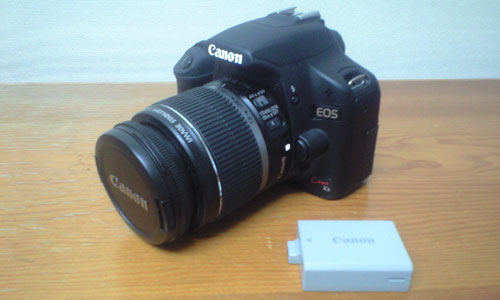 Canon EOS Kiss X3 バッテリ