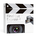 Final Cut Express 4 box