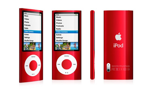 5th iPod nano RED
