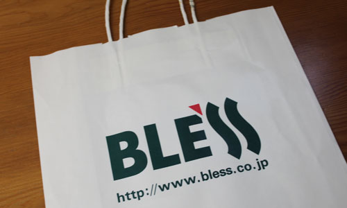 BLESSの紙袋