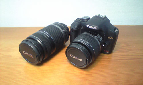 canon EOS Kiss X3 ダブルズームキット