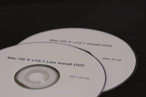 Mac OS X Lion v10.7 DVD