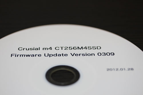 crusial m4 firmware update cd