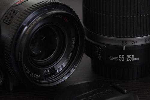 canon iVIS HF G10 フィルター