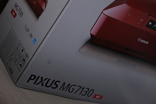 canon PIXUS MG7130 RED BOX