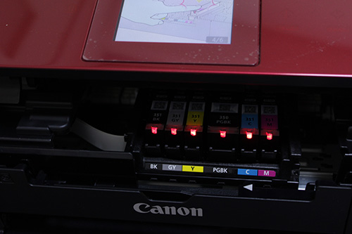 canon PIXUS MG7130 RED