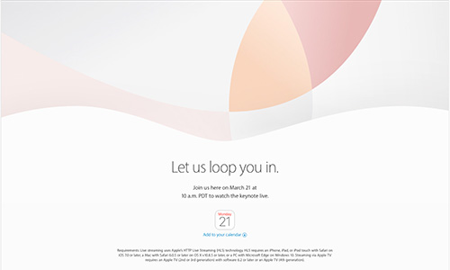 Apple Special Event - Let us loop you in.