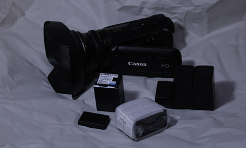 canon iVIS HF G10 と 互換バッテリ