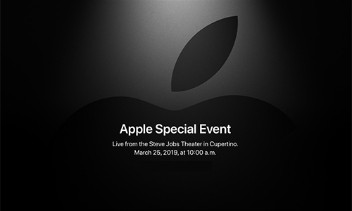 Apple Special Event : It's show time.